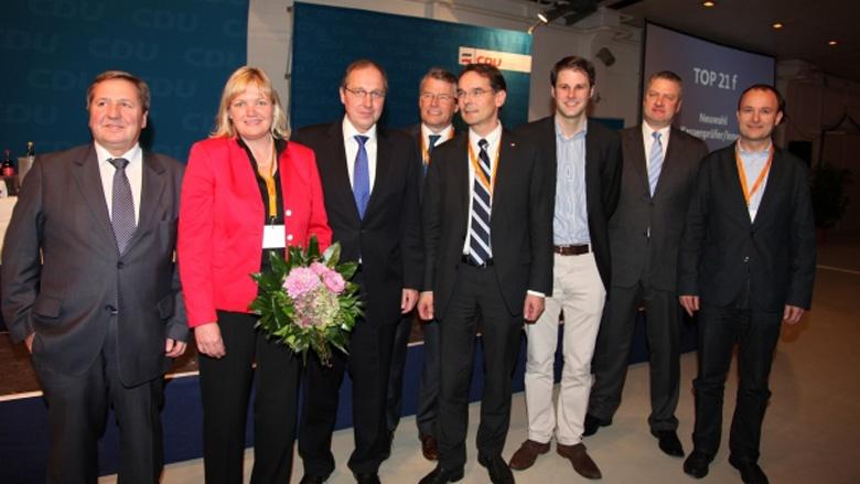 Jost de Jager bleibt Vorsitzender der CDU Schleswig-Holstein